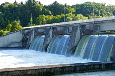 Ökostrom aus dem Wasserkraftwerk Oberaudorf