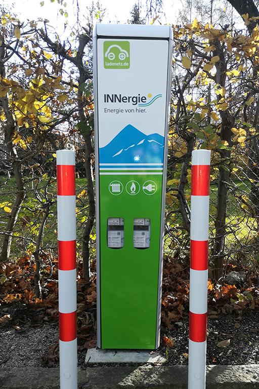 Ladestation für Elektrofahrzeuge in Oberaudorf