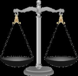 Symbolbild mit Waage